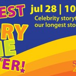 Come to our Biggest Storytime Ever July 28
