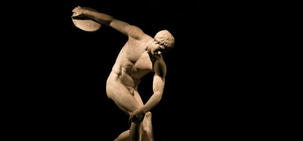 Greek discus thrower