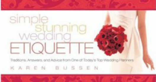 Miss Manners Wedding Etiquette: Wedding Etiquette . . . The Modern Way!