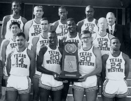 The 1966 NCAA Champion Texas Western Men's Basketball Team