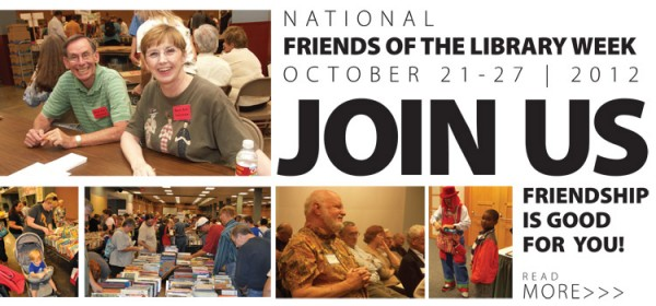 Perfect time to join the Friends of the Library is now