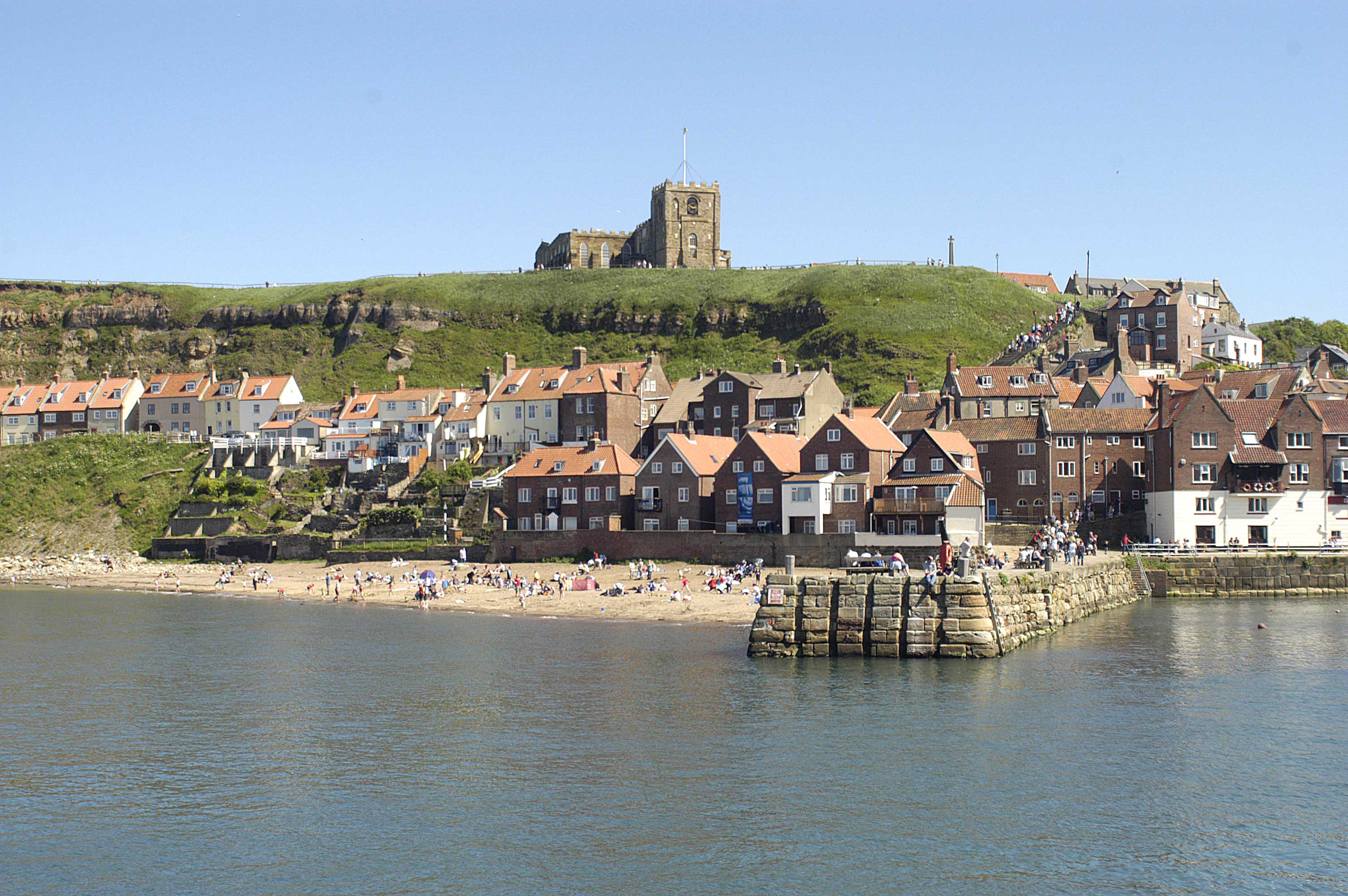 Whitby_Bustling