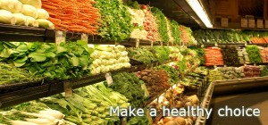 make a healthy choice