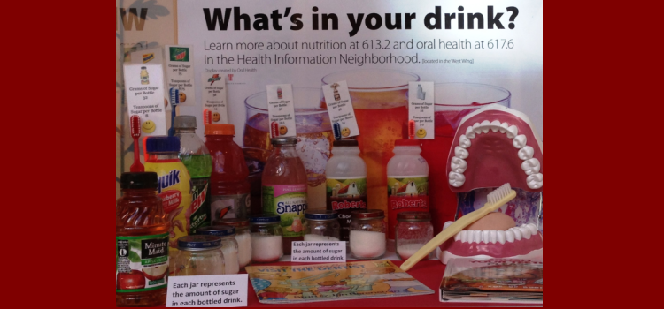 What 39 S In Your Drink Display Educates About Sugary Drinks