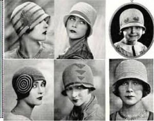 bdeebc89454 Knit or Crochet a 20s-style Cloche