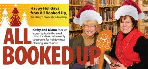 Watch All Booked Up Video Blog to hear about good books to check out
