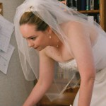 Computer-checking bride 3