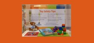 toy safety display with Safe Kids Kansas