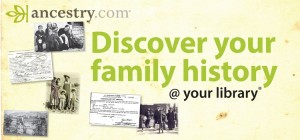 Discover your family history at the library