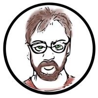Mr. Detrick from Time Harbor, tscpl Community Novel Project 2015 art by Heather Kearns
