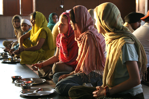 dining in India