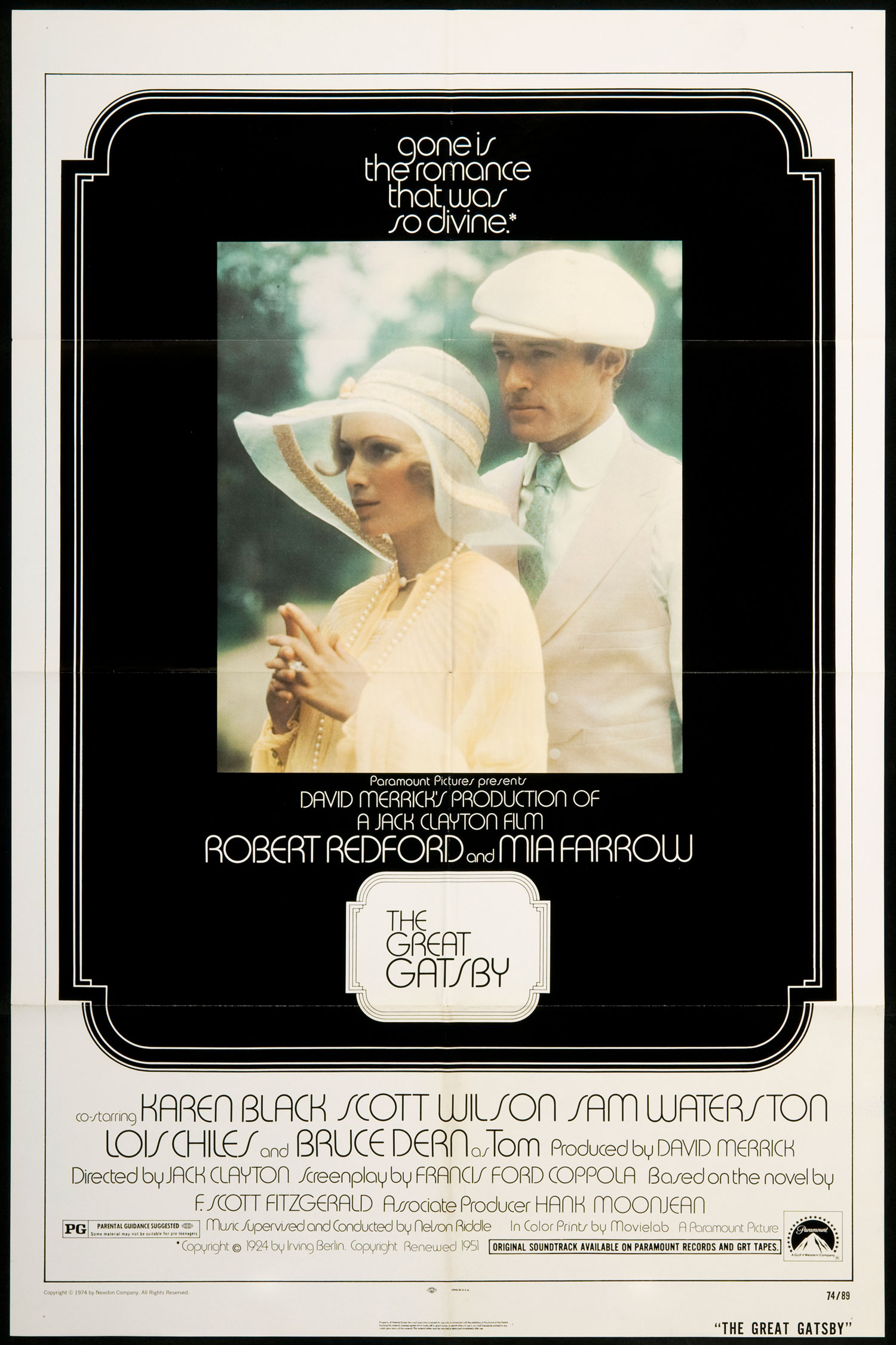 gatsby movie poster