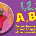 Bring your child to our pre-reading classes