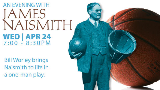 An Evening with James Naismith - thumbnail