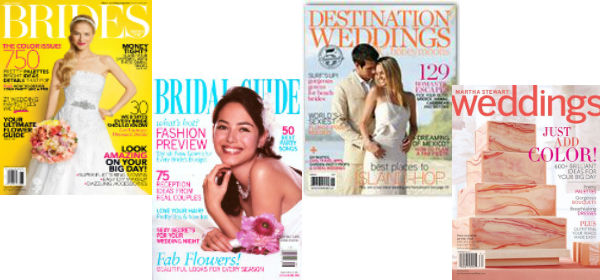 Current Wedding Magazines
