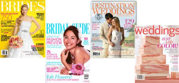 Current Wedding Magazines