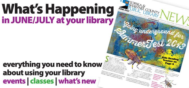 LibraryNewsJuneJuly2013