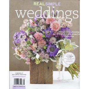 real simple wedding flowers