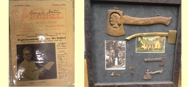 carry nation memorabilia