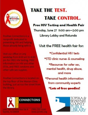 hiv testing day flyer