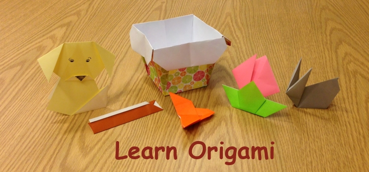 Learn Origami at the library - Find more origami books in the Arts and Crafts Neighborhood at Call Number 736.982