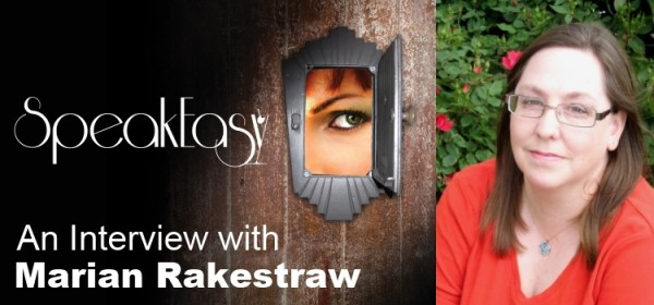 speak easy author interview marian rakestraw