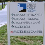No Smoking at the library