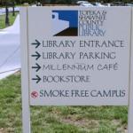 No Smoking at the library