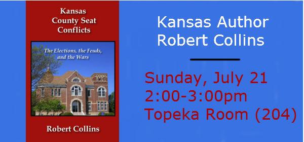 Kansas Author Robert Collins Topeka Amp Shawnee County