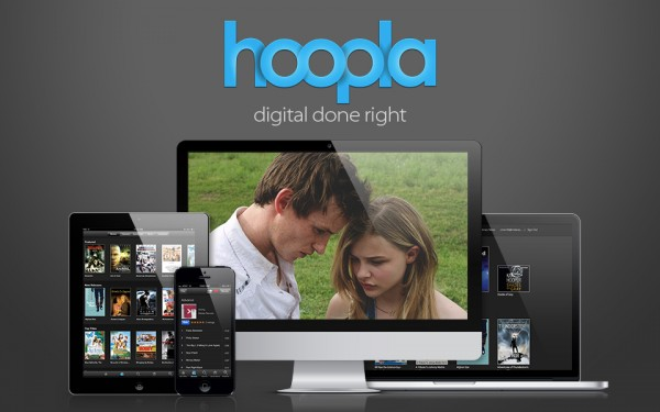 hoopla main screen