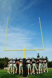 football - players by goalposts - resized
