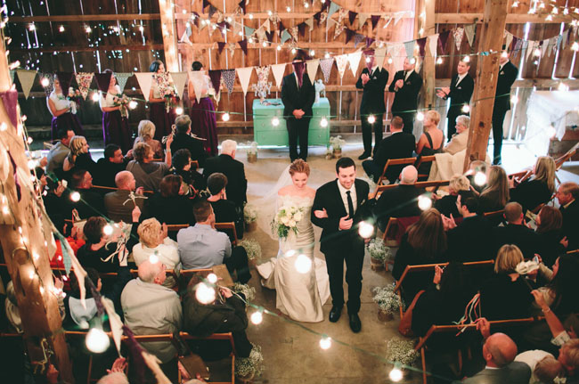 Chicago indoor wedding