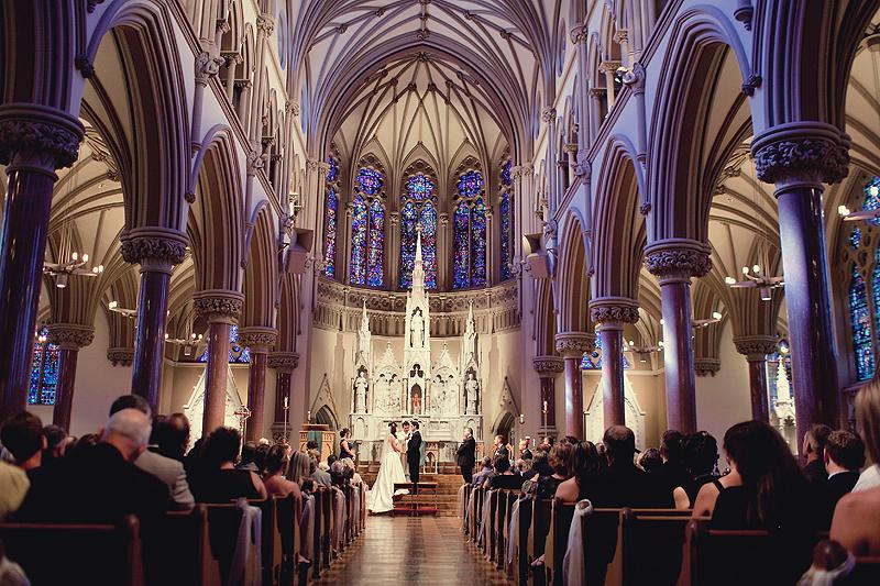 Church wedding image