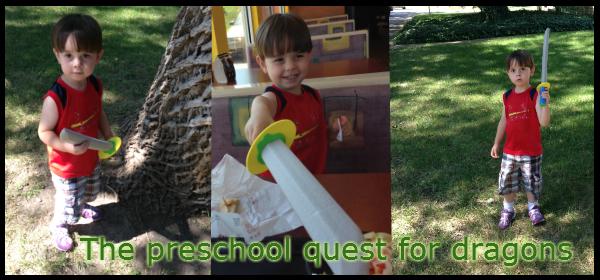 preschool quest for dragons