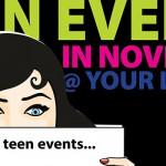 Novemberteen-schedule