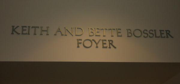 Bossler Foyer