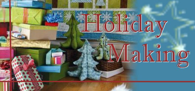 Holiday Making banner
