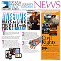View February-March 2014 Library News