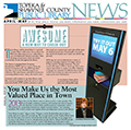 2014 Library News April May cover