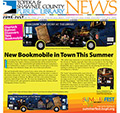 cover of June/July Library News