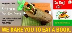 edible book blog post