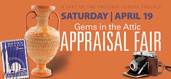 Gems in the Attic Appraisal Fair April 19