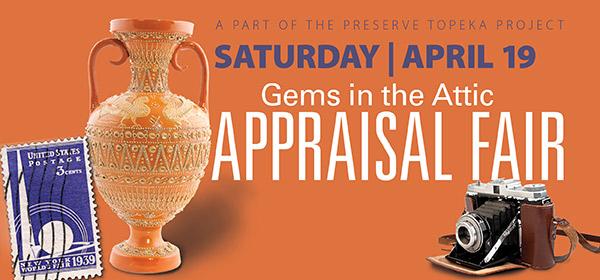 Gems in the Attic Appraisal Fair April 19