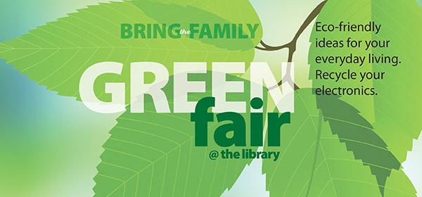 Green Fair is April 19