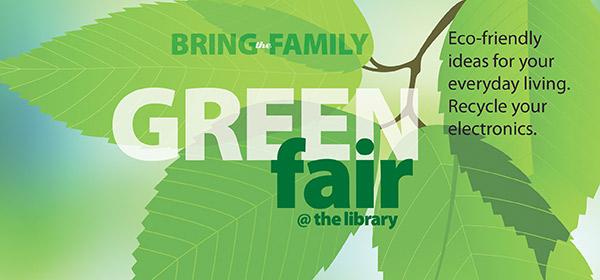 Green Fair is April 19