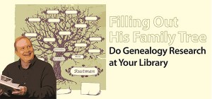 One man's story of genealogy research at the library