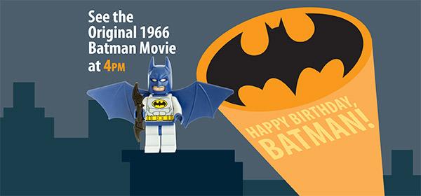 Batman program May 17
