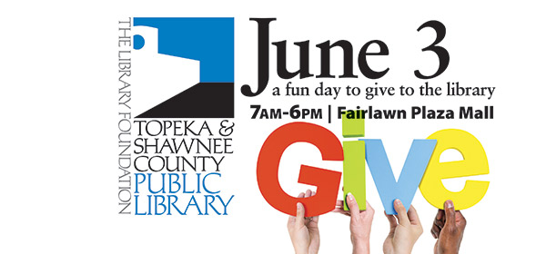 Topeka Gives is June 3