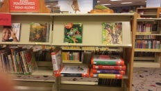 Here is where the Juvenile Bookpacks are shelved