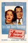June Bride (1948) film poster